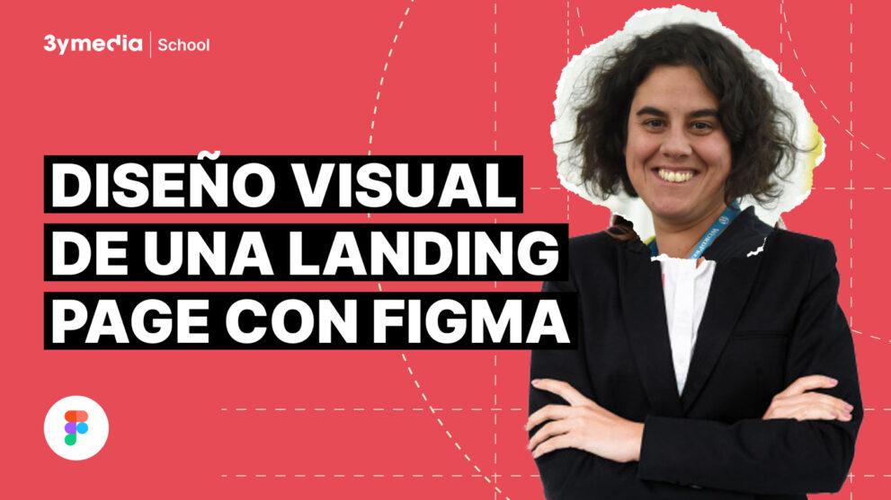 Diseño visual de una Landing Page con Figma