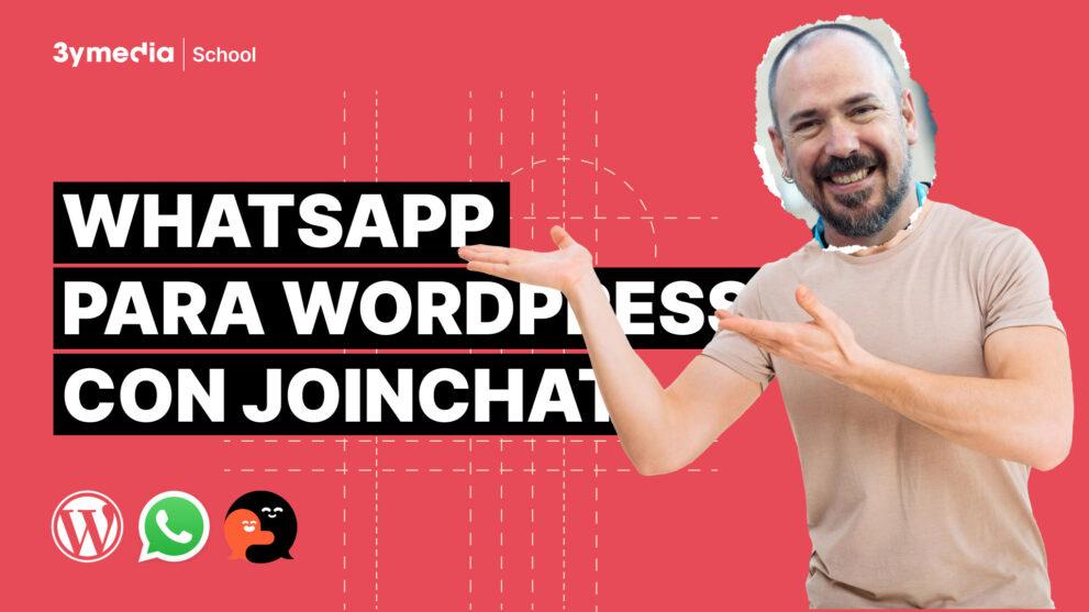 Curso de WhatsApp para WordPress con Join.chat